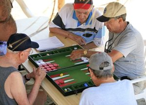 Saturday Afternoon Backgammon - Backgammon Table Guide