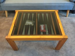 Antonys Backgammon Table